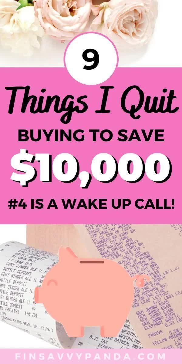 How To Stop Buying Things: 11 Things I Stopped Buy