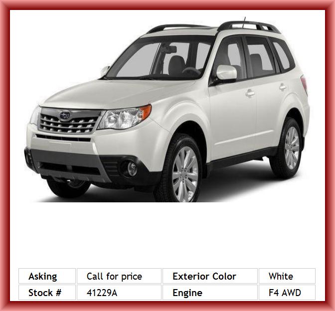 2013 Subaru Forester 25x Limited Wagon Interior Air Filtration