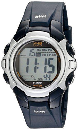 timex men s t5j571 1440 sport watch blue band timex men s t5j571 1440 sport watch blue band