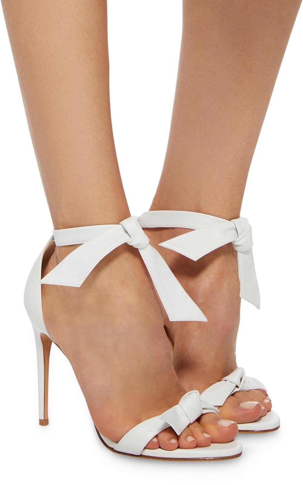 Leather sandals, Bridal shoes