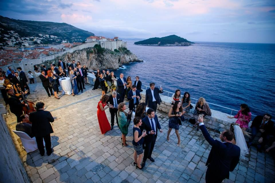 The Fairest Of Them All Lovrijenac Fortress Ultimate Dubrovnik Wedding Venue Suitable For