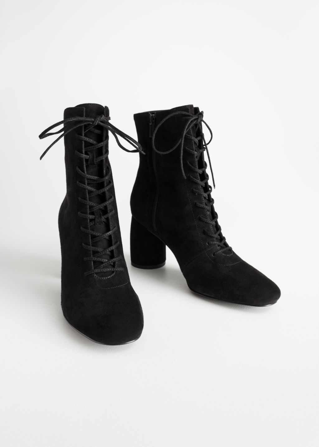 Boots, Lace up ankle boots, Suede boots