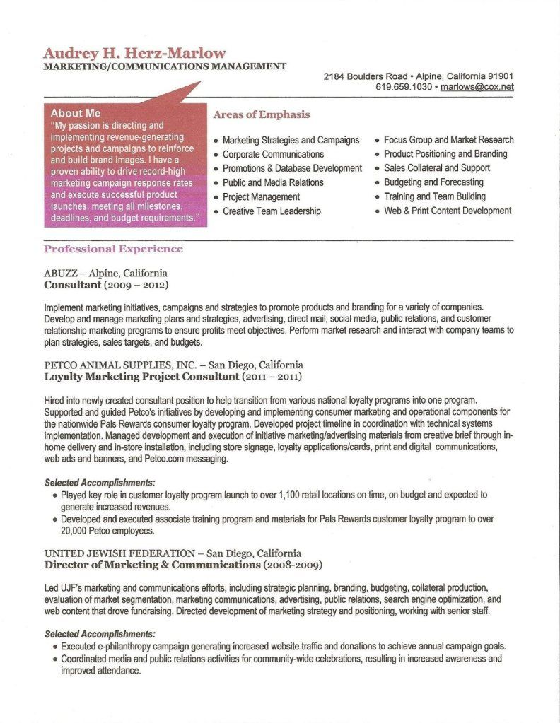 Ahm Resume With Images Corporate Communication Research