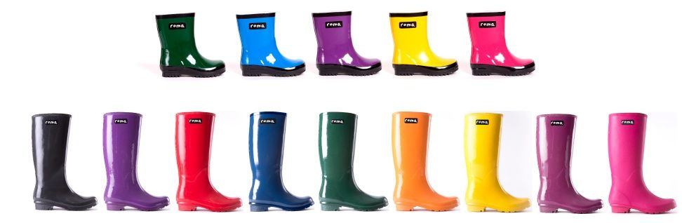 Roma Boots Rain Boots That Combine Fashion With