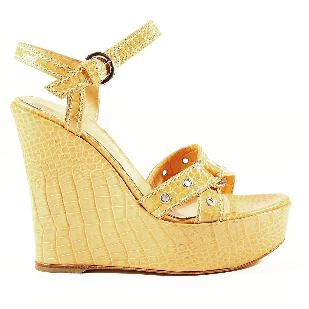 a9c9e470e6b9a9 Sergio Rossi summer platform Sandals now available at dellamoda.com   italianfashion  shopdellamoda  summer  love  luxuryfashion…