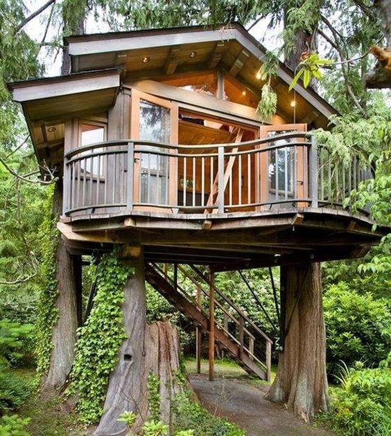 Tiny House Treehouse Tiny House Cool Tree Houses Beautiful