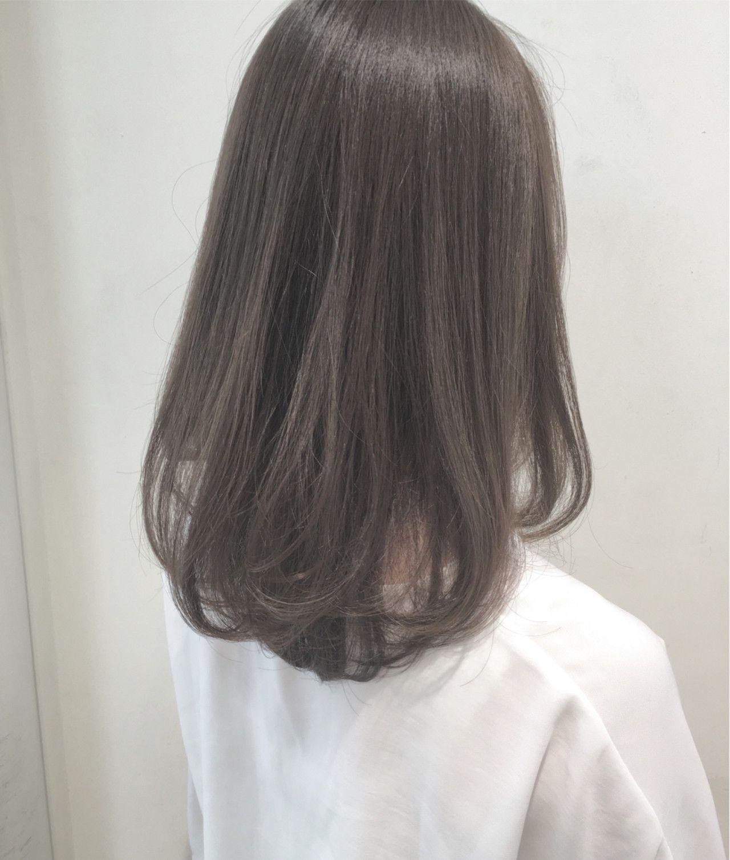 秋 ロング 透明感 大人かわいい Azura鏡島 市岡 久 316175 Hair