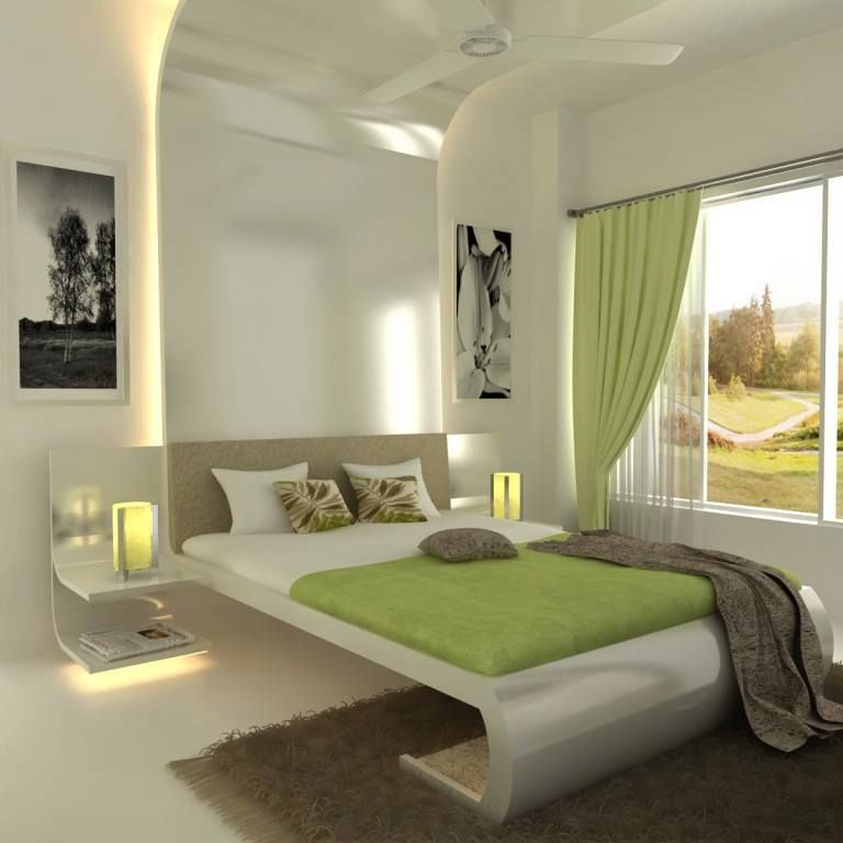 modern bedroom designs%0A Aesthetic Bed Room Interior Design at Modern Interior Concepts  aesthetic   Bedroomdesign  Vangaveeti