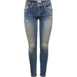 Photo of Only Onlalba Reg Ankle Skinny Fit Jeans Damen Blau Only