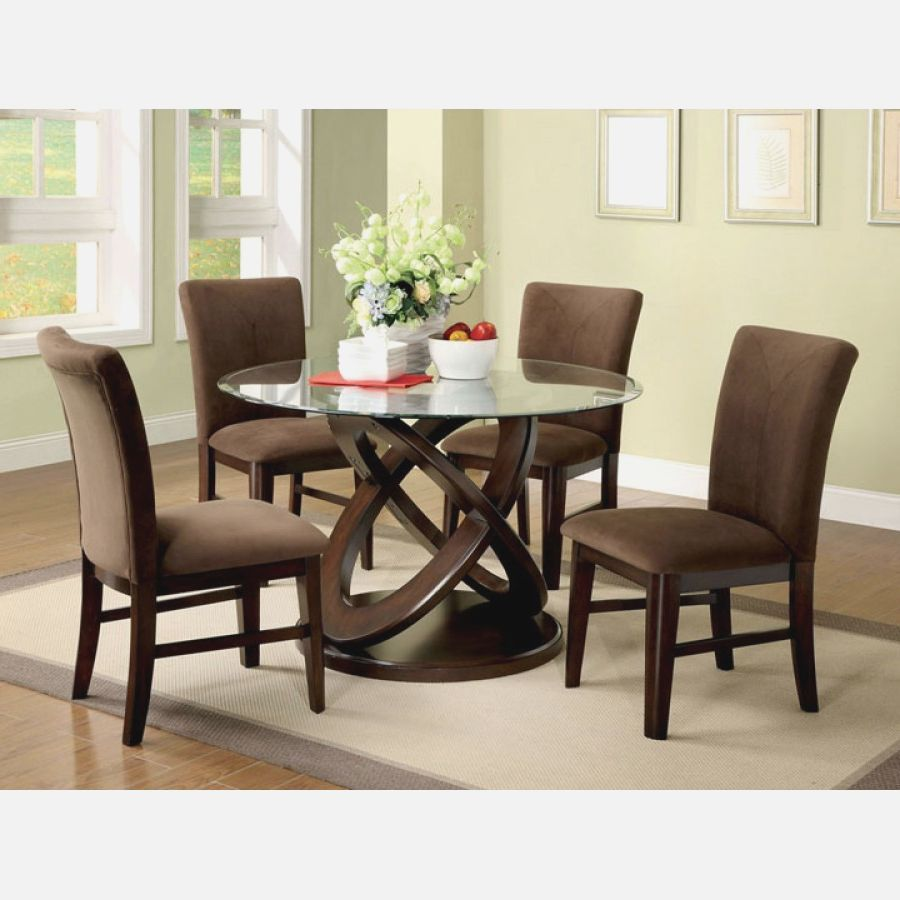 Wooden Dining Tables With Glass Top Bsm Farshout Com Set Ruang