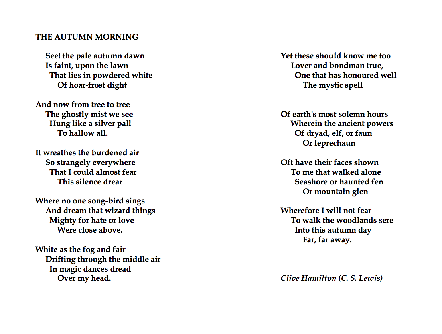 Pin By Moriah Nelson On Autumn Morning Poem Poetry Poetic Device Used In Ode To The West Wind