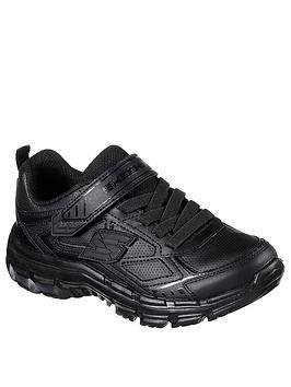 Skechers Nitrate School Shoes - Black