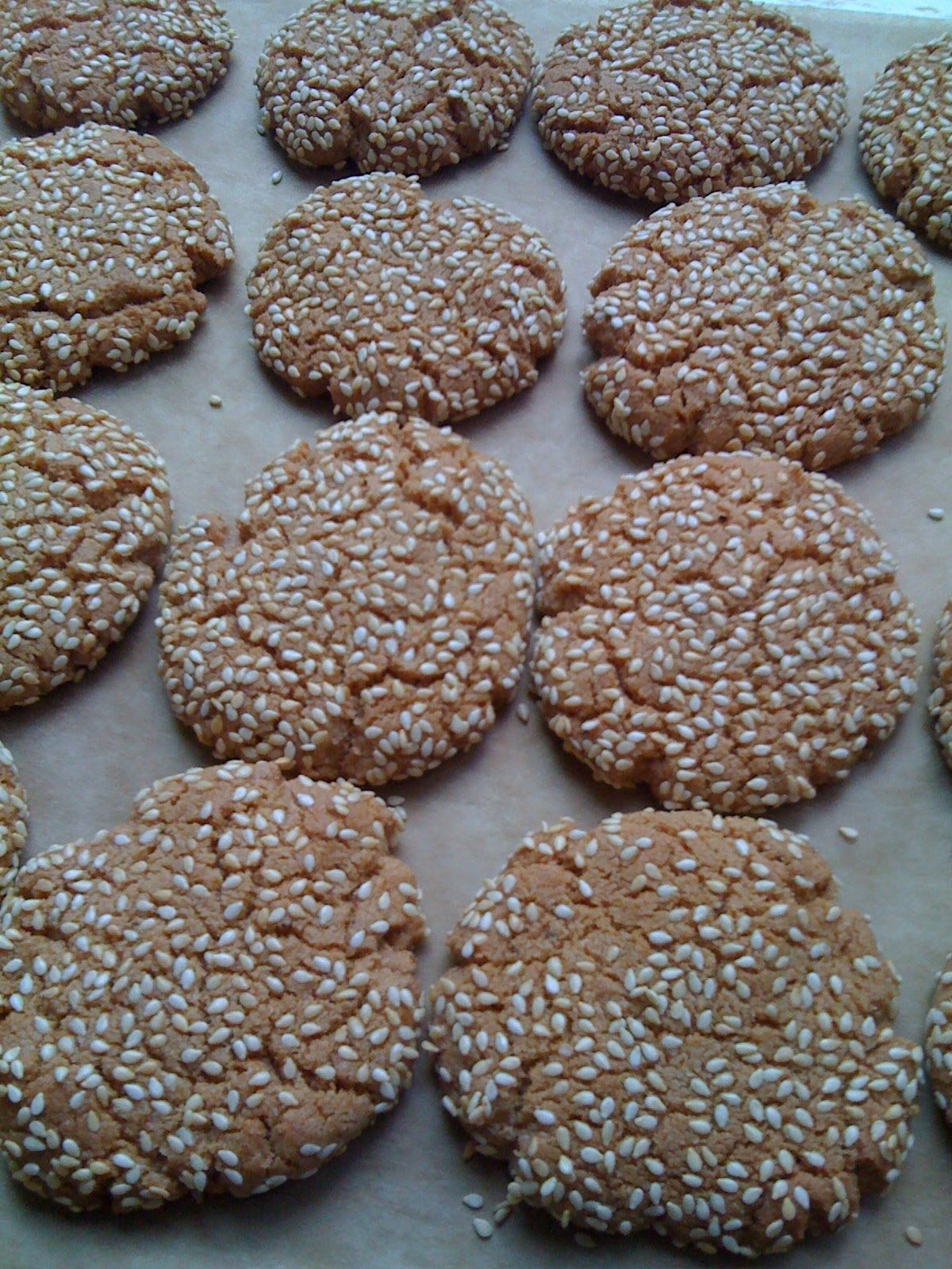 Gluten Free Sesame and Anise Cookies Anise cookies