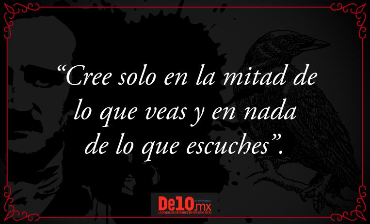 10 Frases Para Entender El Terror De Edgar Allan Poe Cuál