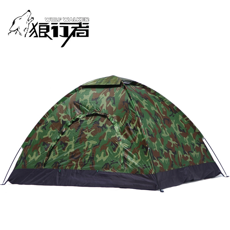 Cheap c&ing tent Buy Quality camouflage tent directly from China 4 person Suppliers 4 people c&ing Tent Portable Single Layer carpas 4 Person outdoor ...  sc 1 st  Pinterest & 43.66$ Watch now - http://alihky.worldwells.pw/go.php?t ...
