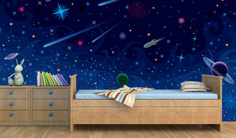 Transform Your Kids Room Into A Space Station My Future Fantasy