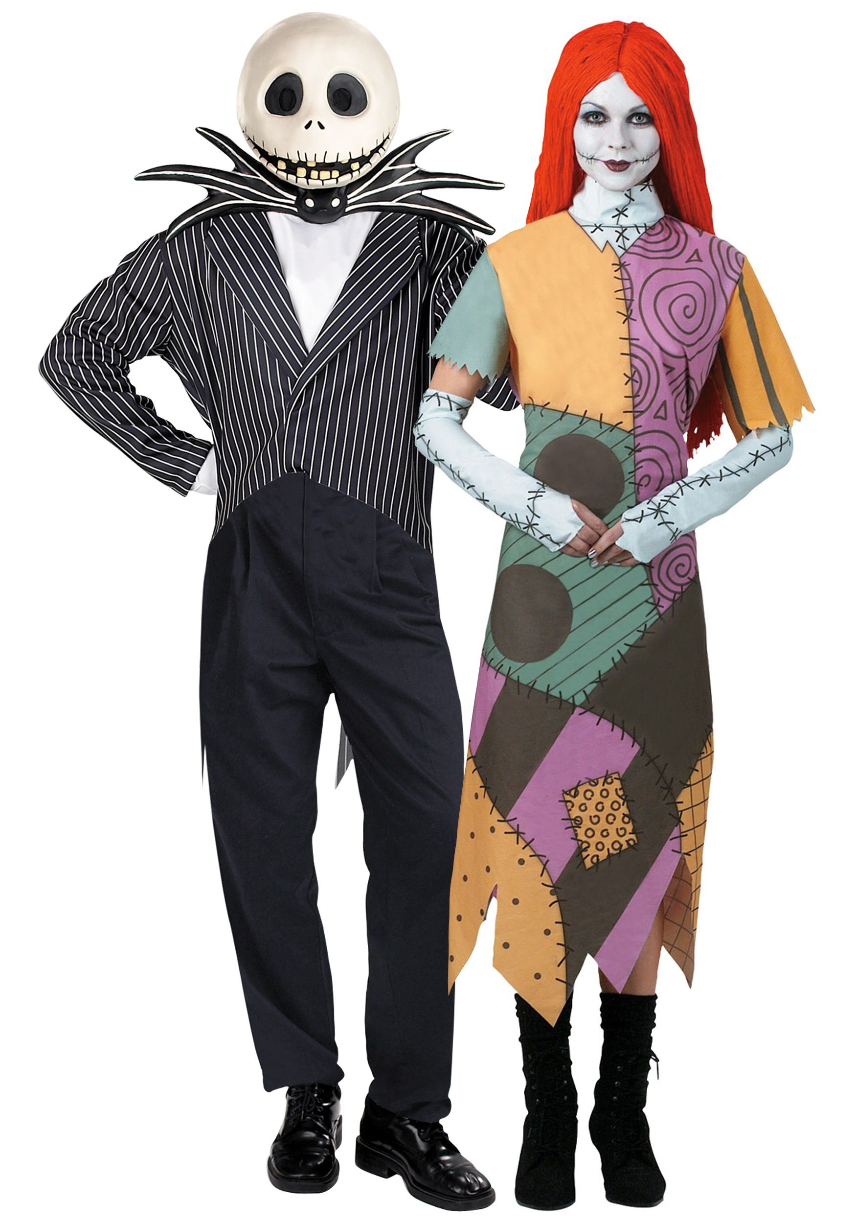 images.costumesgalore.net nightmare-before-christmas-couple-costume  sc 1 st  Pinterest : christmas couple costumes  - Germanpascual.Com