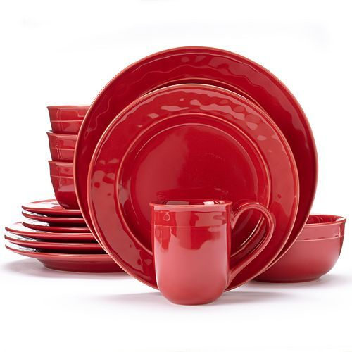 Create a stunning presentation at mealtime with this Food Network dinnerware set.  sc 1 st  Pinterest & Food Network™ Fontina 16-pc. Dinnerware Set   2424   Pinterest ...