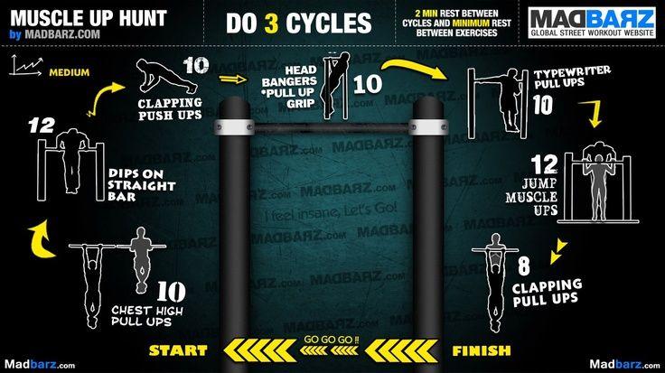 Amado Intermediate calisthenics workout for full body weight exercises  QX73