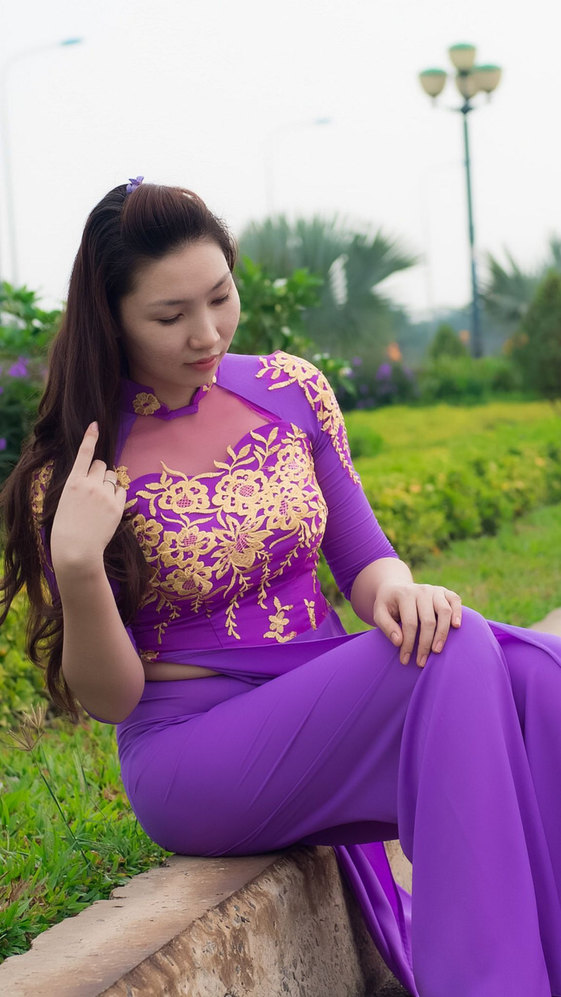 Pin de Trancuongdad@gmail.com en Vietnamese long dress 1 | Pinterest