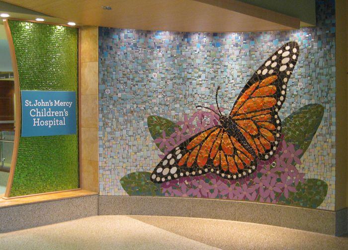 Art From Reclaimed Materials Quot Monarch And Milkweed Quot Broken
