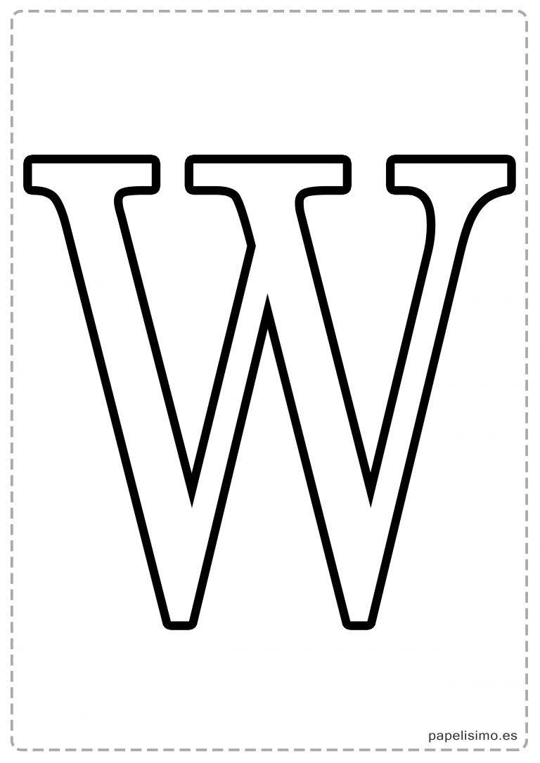 Letras Grandes Para Imprimir Abecedario Letras Grandes Letras