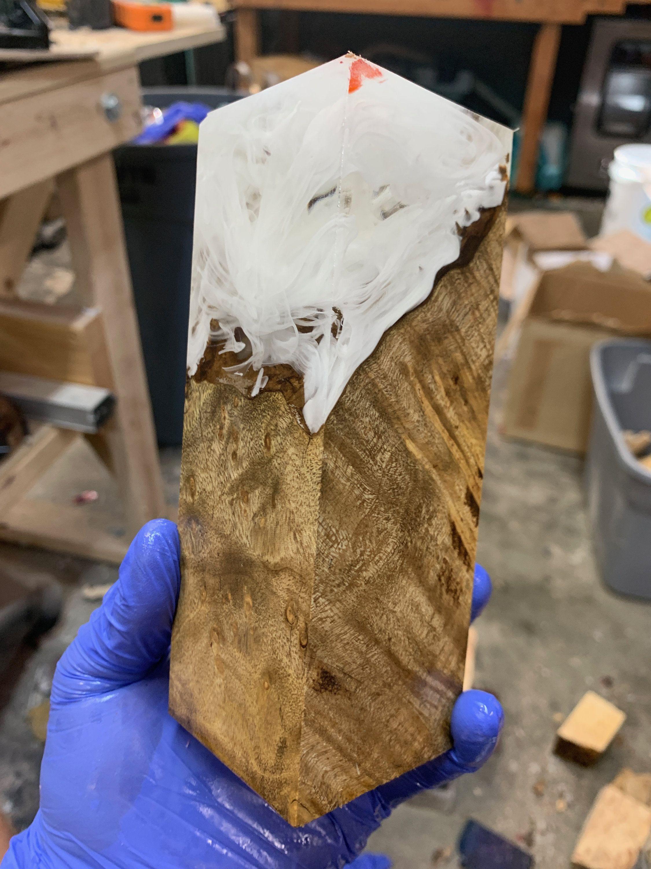 Stabilized Bansia Pods /& Alumilite Resin Block