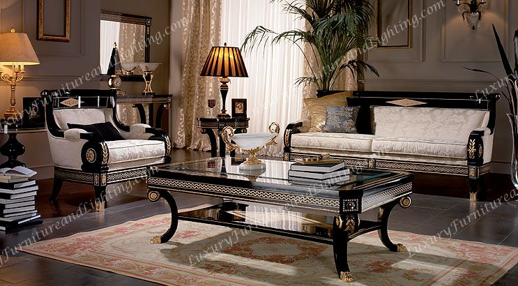 Italian Furniture Living Room. Italian Furniture Classic Style Living Room