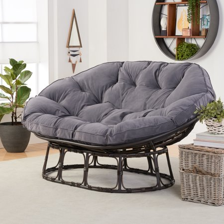1091a7af8a021595599b49aafc8a61b7 - Better Homes And Gardens Tufted Wicker Settee Cushion