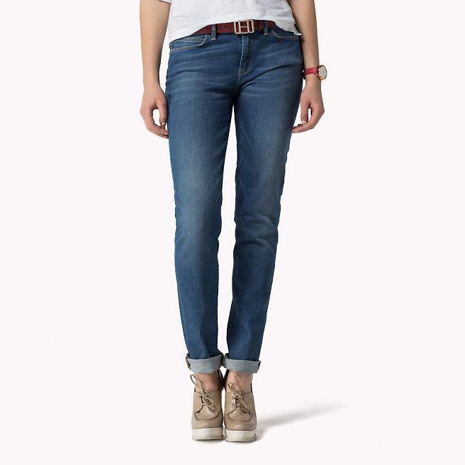 info for discount shop size 7 Tommy Hilfiger Milan Slim Fit Jeans - sarah (Blau) - Tommy ...