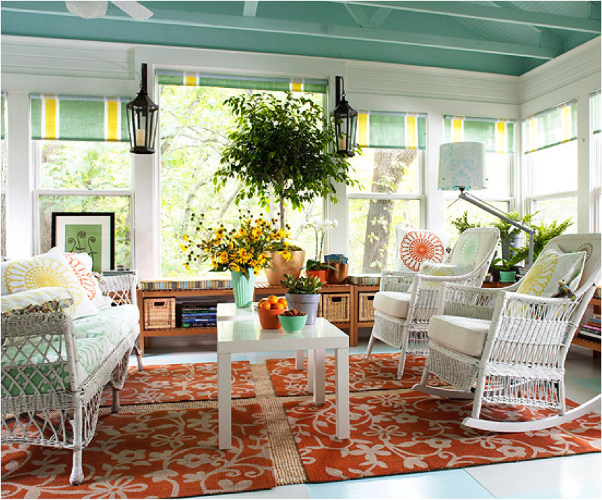 pictures of sunrooms | Sunroom Furniture Ideas: How To Decorating ...