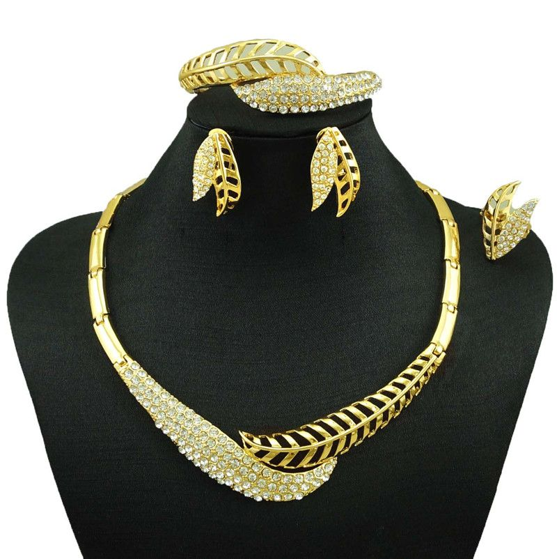 indian jewelry dubai gold jewelry women fashion necklace fine
