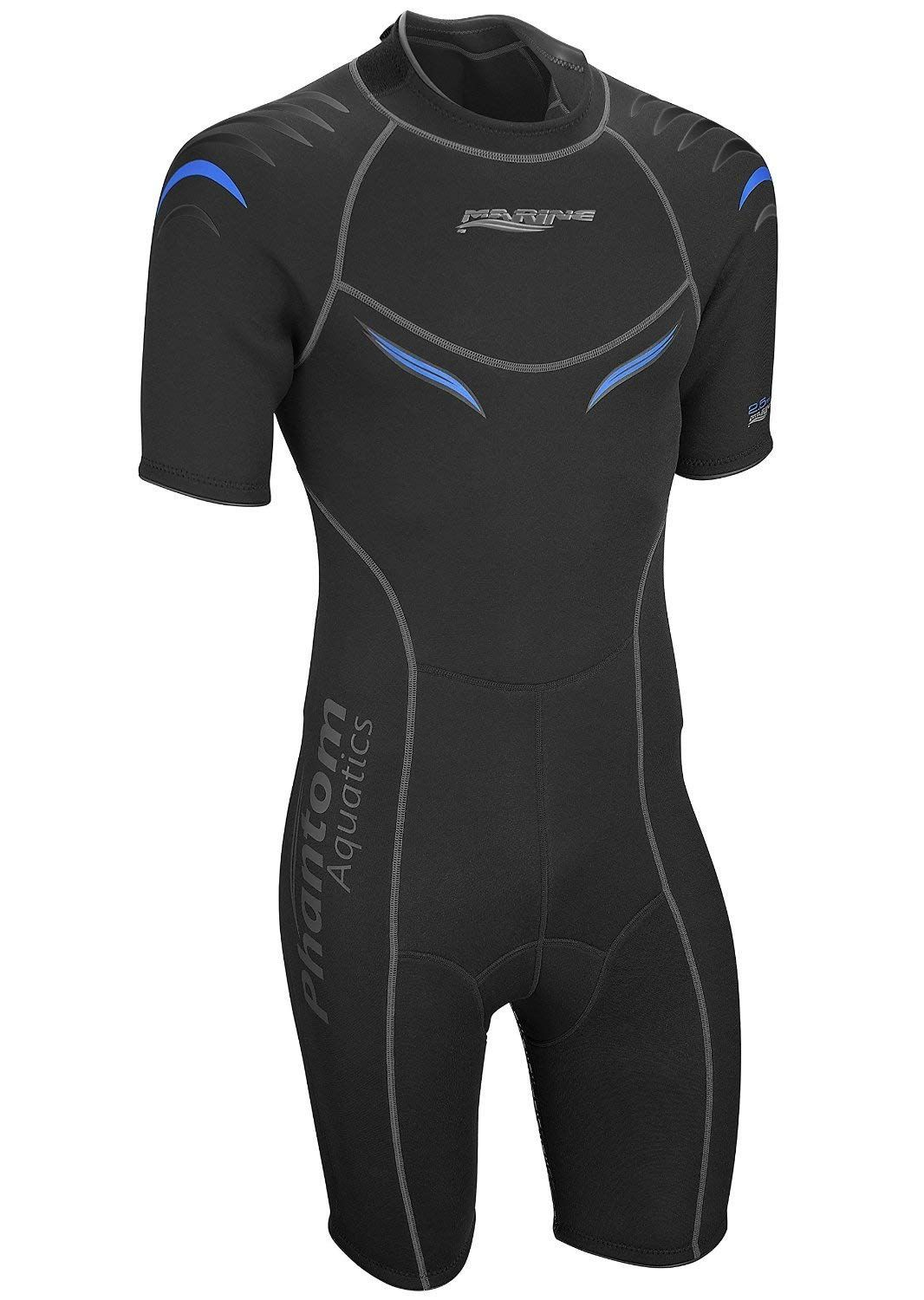 0b99fb4769 Phantom Aquatics Marine Men s Shorty Wetsuit. Phantom Aquatics Marine Men s  Shorty Wetsuit Wetsuit