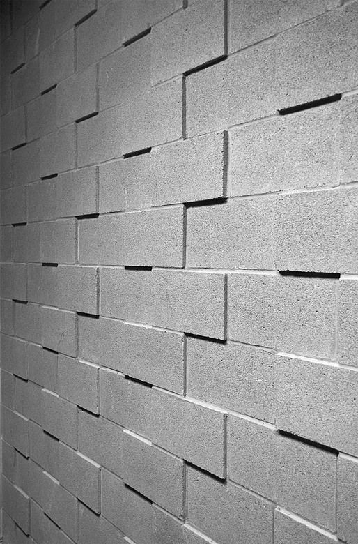 Ten Top Images On Archinect S Details Pinterest Board Concrete Block Walls Cinder Block Walls Masonry Wall