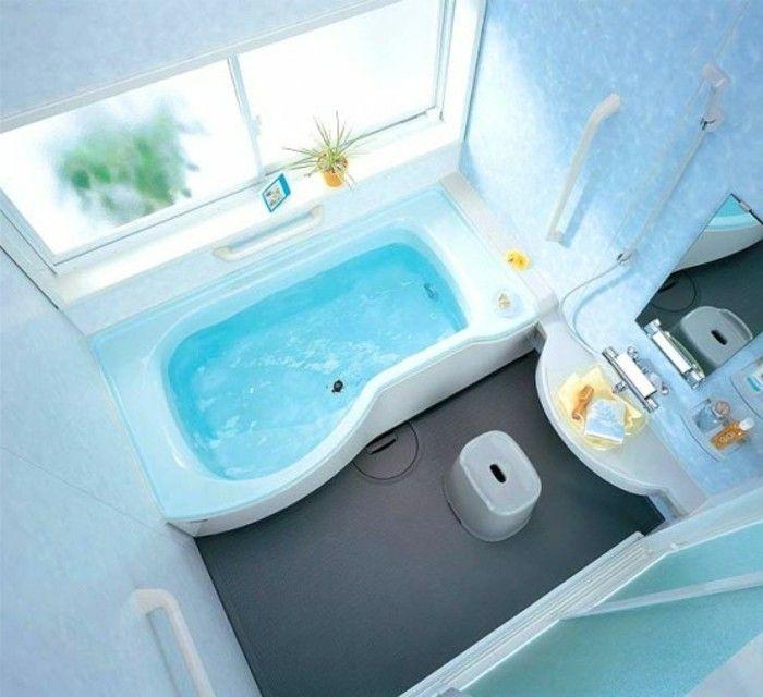 Neu foto von oben genommen kleines bad einrichten schöne badewanne  TO01