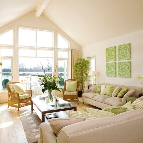 Lakeside Living Room Living Rooms Decorating Ideas Image Ideal Home Living Room Green Beautiful Living Rooms Summer Living Room