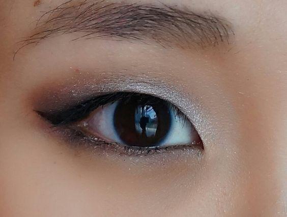 Image result for silver makeup monolid #KoreanMakeup #EyeMakeupGold #EyeMakeupSi…