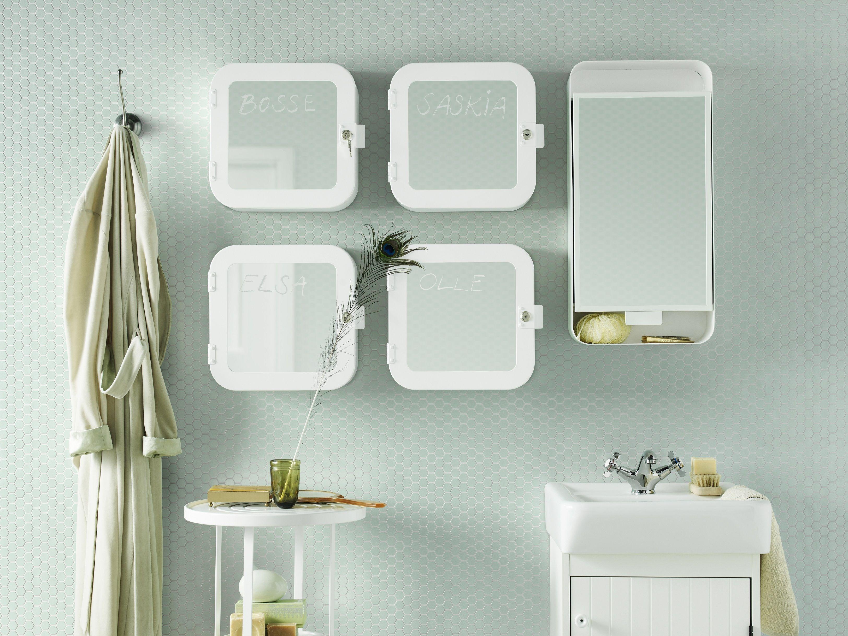 Badkamer Spiegel Kast : Gunnern afsluitbare kast ikea ikeanl inspiratie badkamer