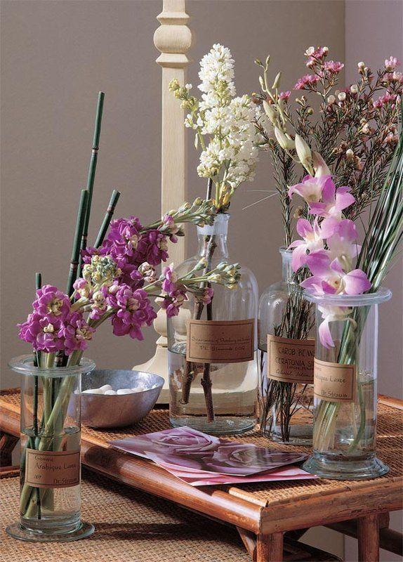 C mo hacer arreglos florales bonitos y muy f ciles - Arreglos florales artificiales para casa ...