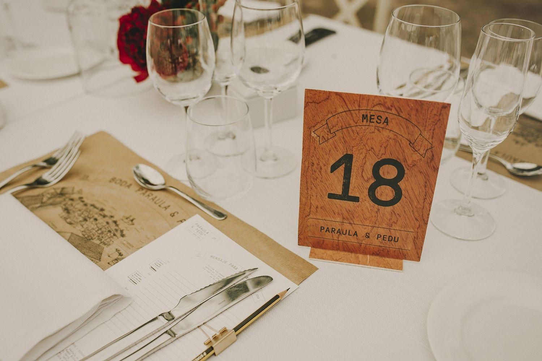 Numeros de mesa boda, table number wedding   Photo by Pablo Laguia    Planificadores de bodas, Bodas en destinos turísticos, Bodas y eventos