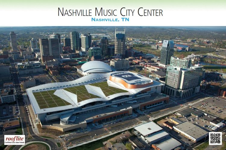 Greenroofs Com Calendar Music City Nashville Green Roof Music City