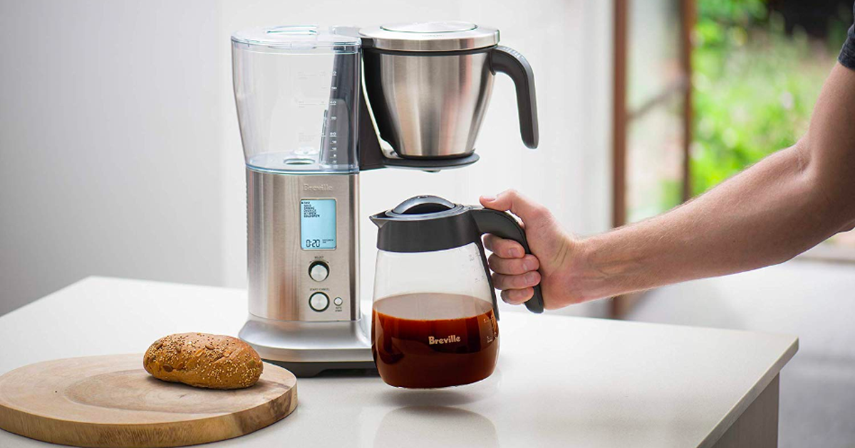 Breville Precision Brewer Coffee Maker Is 36 Off Save 100 Best Drip Coffee Maker Coffee Maker Coffee Brewer