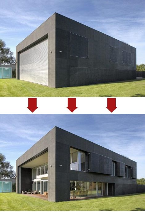 Zombie-proof house: Totally awesome. | General Geekery ... on zombie survival house ideas, zombie lesson plans, mini pool house plans, zombie apocalypse plan, zombie survival camp plans,