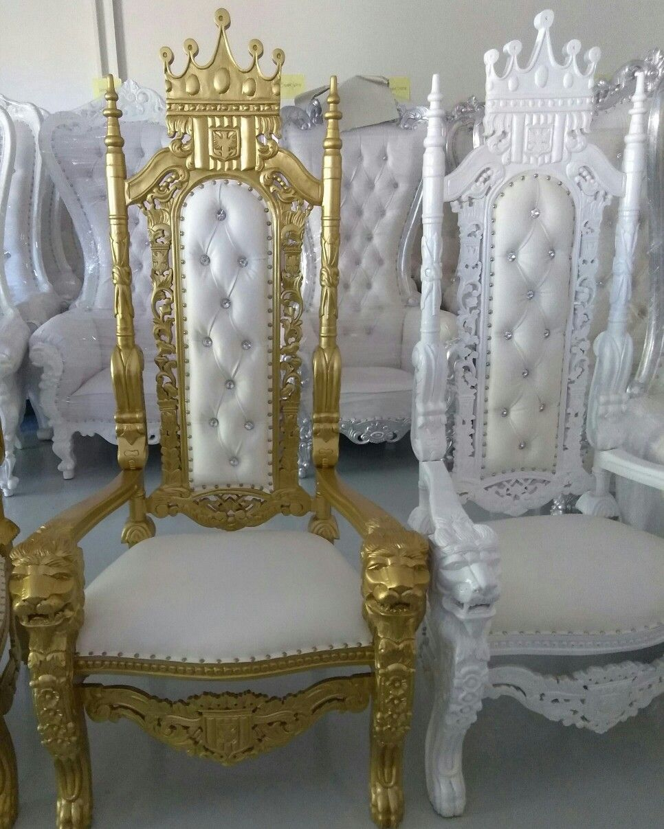 Thrown Gold Or White On White Chairs Thrown Chair Kylie Baby Shower Gold Throw