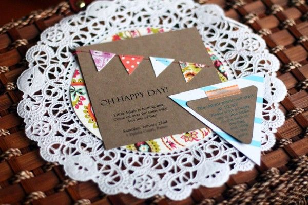 A Picnic Inspired First Birthday Party – Diy Birthday Party Invitations