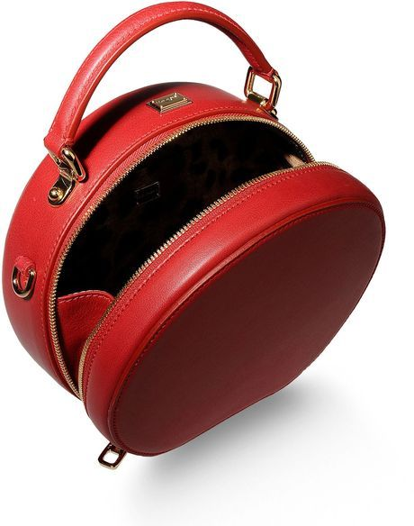 b1311a0dec69 Dolce   Gabbana Small Leather Bag in Red