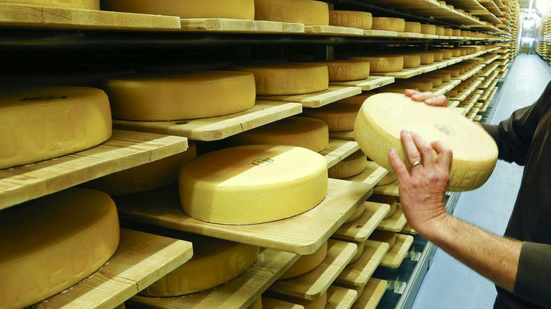 Cheese heists: $160,000 worth of cheese stolen in Wisconsin — RT USA