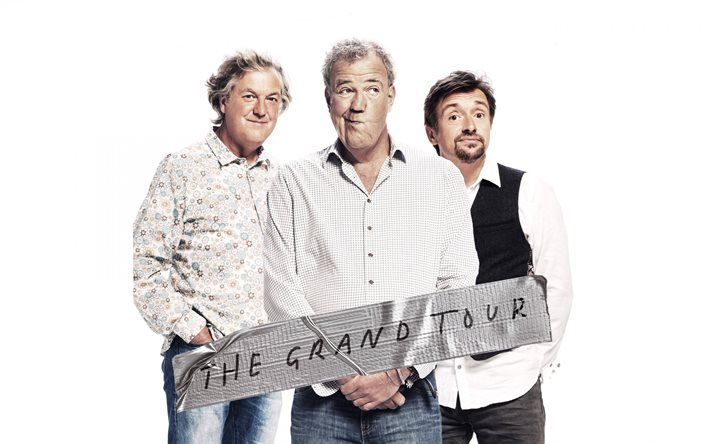 Download Wallpapers The Grand Tour Jeremy Clarkson James May Richard Hammond Besthqwallpapers Com