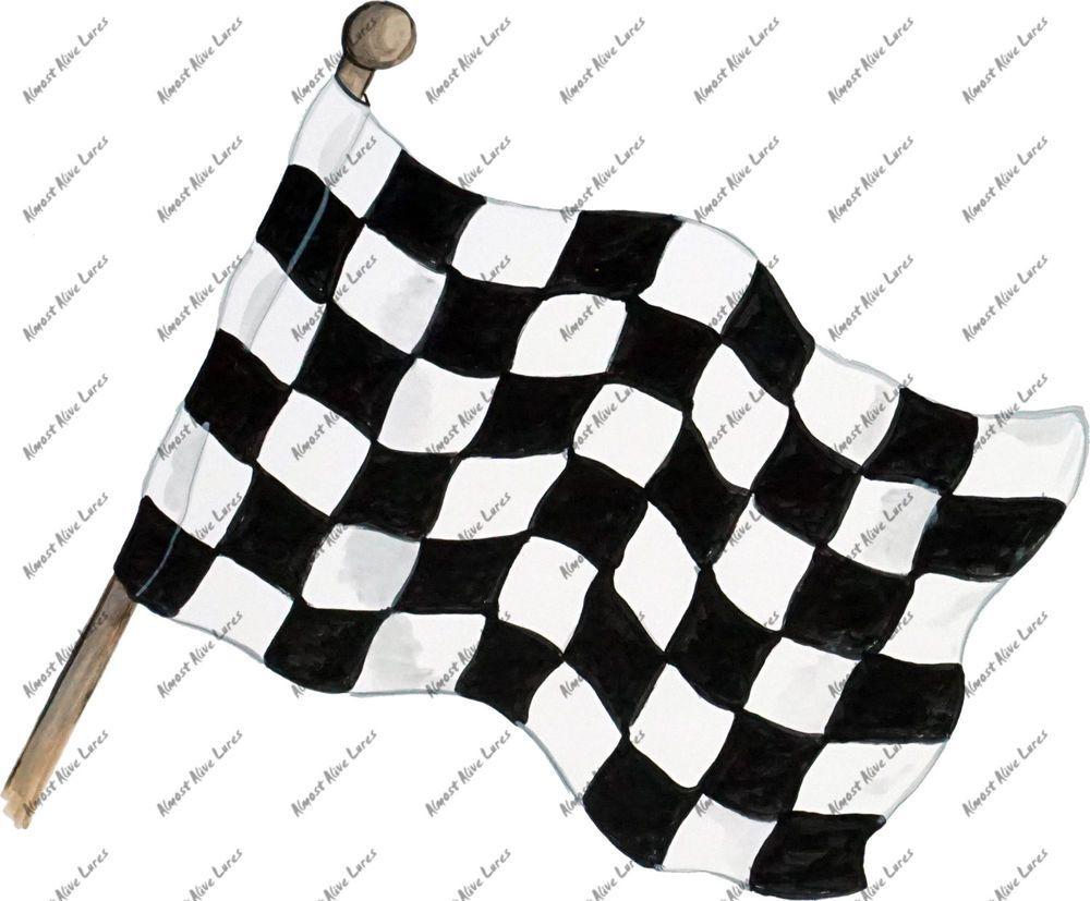 Checkered Chequered Flag Racing Race Black White Decal Sticker Auto Rv Boat Car Ebay Checkered Flag Checkered Black And White [ 827 x 1000 Pixel ]