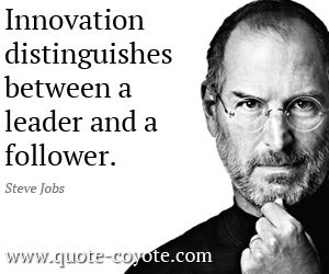 Quotes On Innovation Brilliant Innovation Quotes  Innovation Distinguishes Between A Leader And